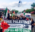 Minneapolis marches in solidarity with Palestine.