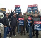 Michigan Teamsters Union Local 406 rallies outside Sysco Corporation.