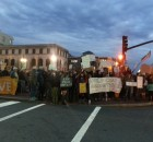 Asheville rally in solidarity with Ferguson.