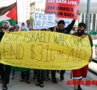 Milwaukee protest in solidarity with Palestine