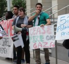 Mazin Abulmeez of USF's Students for Justice in Palestine