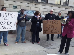 Protest demands justice for Corey Stingley