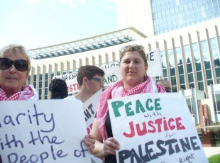 Minneapolis protest marks anniversary of Al Nakba.
