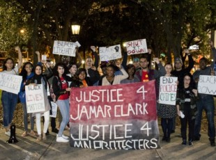 Tampa stands with Minneapolis protests demanding justice for Jamar Clark.