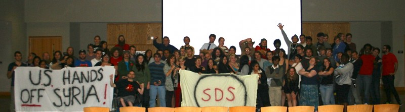 Participants in 8th National SDS Convention
