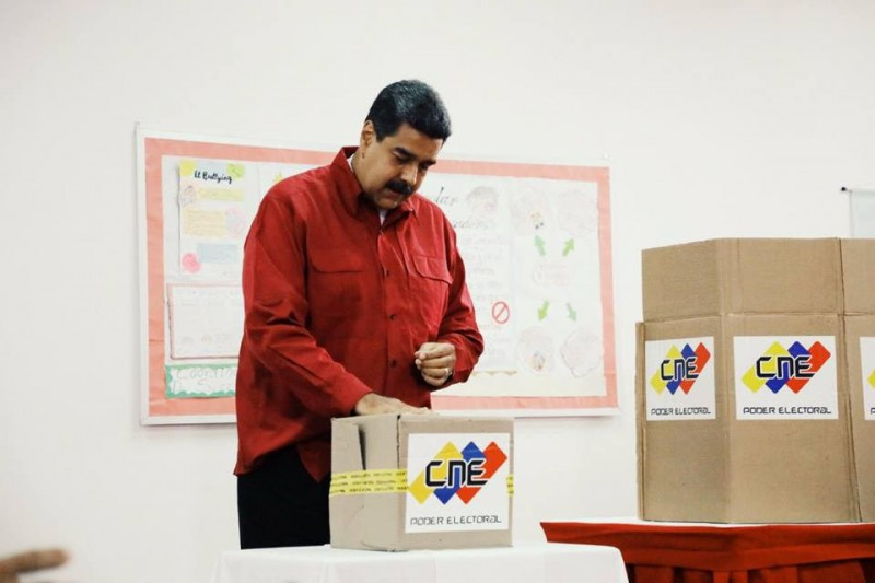 Maduro wins second term amid boycott