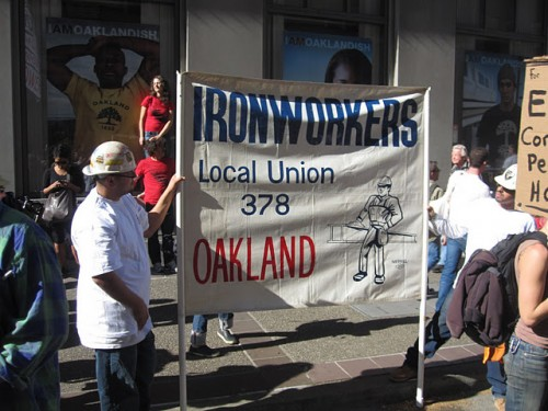 Iron Workers, Oakland, CA, November 2, 2011