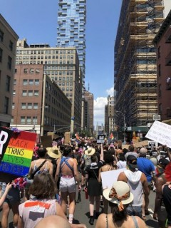 NYC Queer Liberation March.