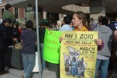 Minneapolis protest against Arizona's new anti-immigrant law