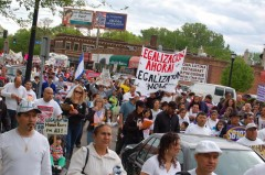 Minneapolis May Day march for immigrant rights