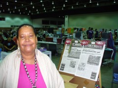 Rosemary Williams at the US Social Forum, June 2010