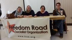 Panelists at Twin Cities International Women's Day celebration.