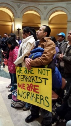 Protest at Minnesota Capitol March 26 demands drivers licenses for all