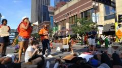 March for justice for Philando Castile blocks Hennepin Ave in Minneapolis