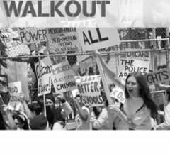 Scene from Walkout movie