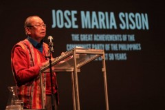 Jose Maria Sison, Founding Chairman of the Communist Party of the Philippines.