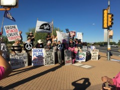 Tucson anti-war protest demands 'Ground the drones!'