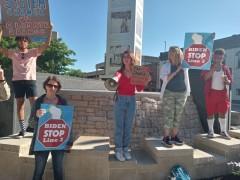 Appleton, WI protest against Enbridge Lines 3 and 5.