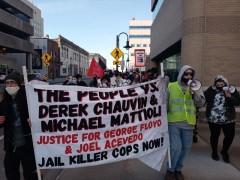 Appleton, WI 'The People v. Chauvin & Mattioli' rally.