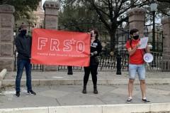 Austin protest demands justice for George Floyd.