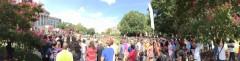 Thousands protest KKK at Columbia, SC Statehouse.