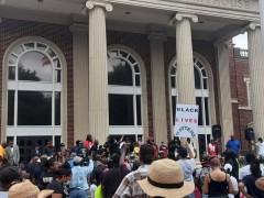 1000 rally in Brunswick, Georgia demanding justice for Ahmaud Arbery