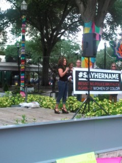 Chevara Orrin speaks about her outrage over the death of Sandra Bland