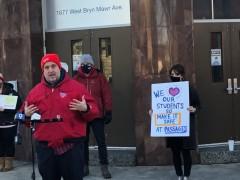 CTU stands up for safe schools.