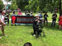 Armanda Shackleford, mother of Chicago Police torture survivor Gerald Reed, spe