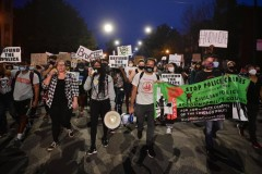Chicago protest demands justice for Breonna Taylor.