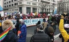 Women's March in Washington DC.