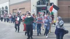 Dallas Nakba protest.