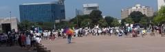 Dallas protest for immigrant rights.
