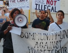 Dallas protest against border concentration camps.