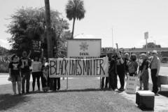 Protest against Angela Corey outside Duval Regional Juvenile Detention Center