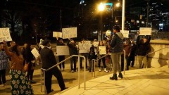 North Carolina students protest Charlotte police violence