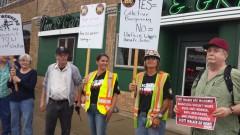 St Paul protest slams Scott Walker appearance