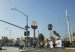 High school walkout in East LA.