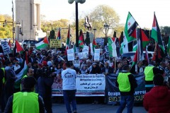 More than 4000 march for Palestine in Chicago