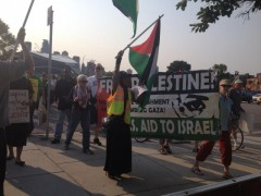 Minneapolis march demands end to U.S. aid for Israel.