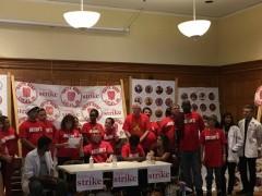 Harvard workers vote to strike