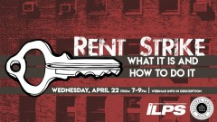 Rent Strike: What it is and how to do it - ILPS & NLG
