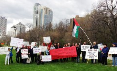 Milwaukee Palestine solidarity activists commemorate Al Nakba.