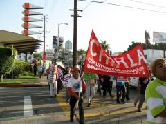 LA protest at Obama visit, September 26.