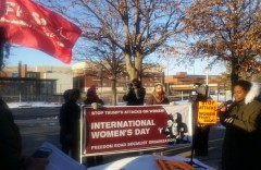 Intentional Women's Day rally in Minneapolis.
