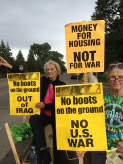 Twin Cities protest against sending additional U.S. troops to Iraq