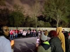 Jacksonville protest demands justice for Kwame.