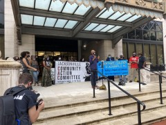 Jacksonville press conference outside of City Hall pressed demand for People's B
