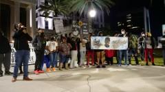 Jacksonville, FL protest demands justice for Devon Gregory.