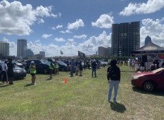 Jacksonville protest demands community control of police.